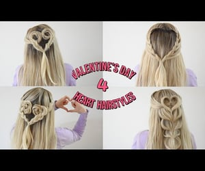 braid, hairstyles, and tresses image
