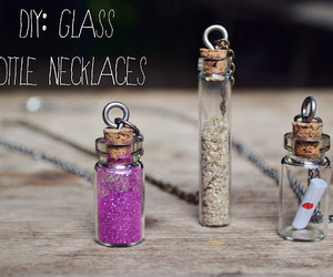 blog, bottle, and chain image