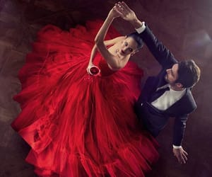 love, red, and dance image