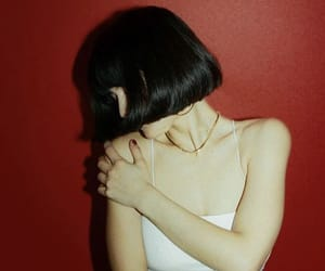 aesthetic, black hair, and girl image