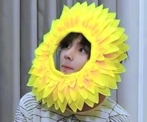 flower, kpop, and v image