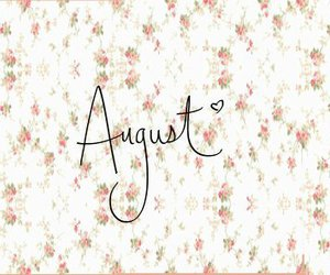 August, heart, and keep calm image