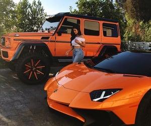 car, kylie jenner, and orange image
