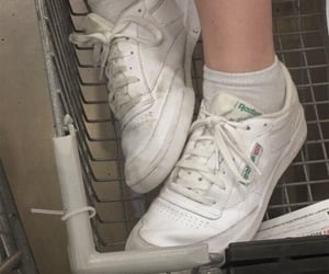 shoes, white, and aesthetic image