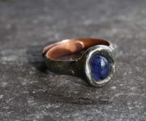 etsy, handmade, and goth ring image