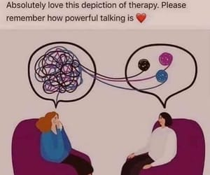 depression, therapy, and help image