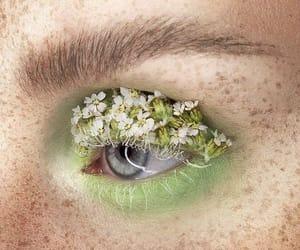 fairy, garden, and makeup image