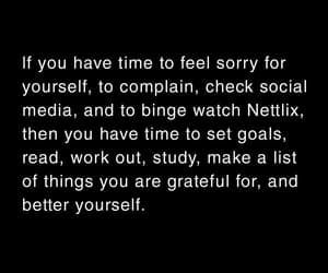college, goals, and grateful image