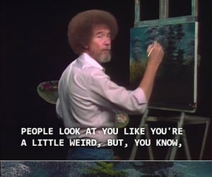 bob ross and quotes image