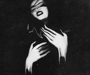 art, b&w, and blackandwhite image