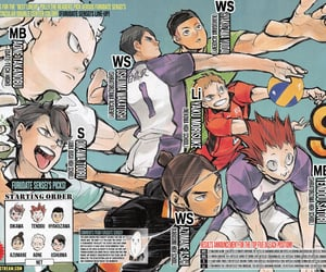 archive, colored manga, and haikyuu image