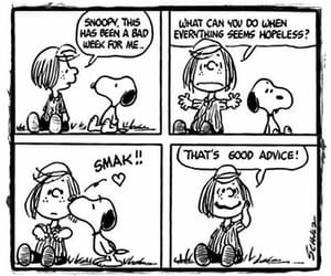 funny, peanuts, and smile image