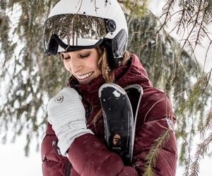 forest, ski, and slopes image