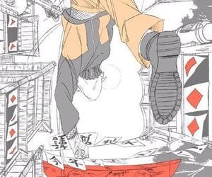 naruto, run, and uzumaki image