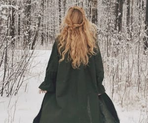 aesthetic, hair, and winter image
