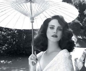 lana del rey, black and white, and vintage image