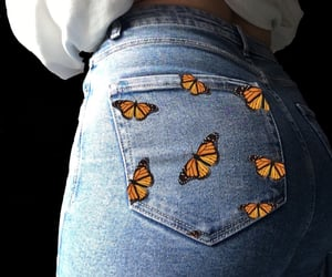 body, booty, and butterfly image