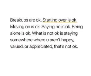 alone, breakups, and broken image