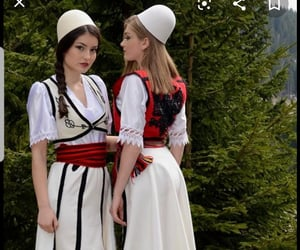 culture, history, and albanian women image