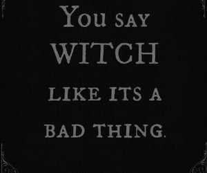 witch, quotes, and magic image