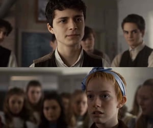 anne shirley, gilbert blythe, and anne with an e image