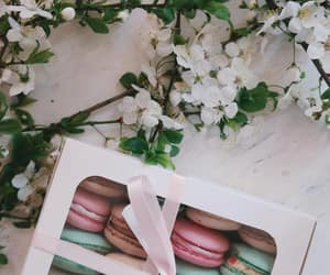 food, flowers, and aesthetic image