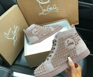 christian, louboutin, and luxury image