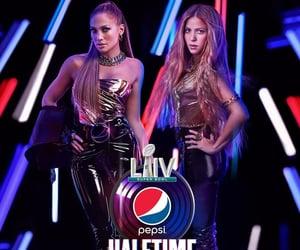 2020, shakira, and Jennifer Lopez image
