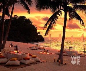 beach, dreams, and love image