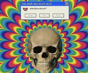 acid, trippy, and aesthetic image