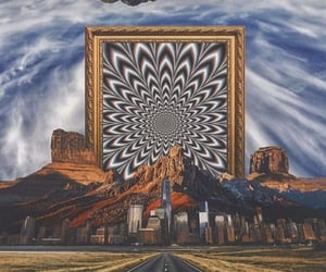 aesthetic, illusion, and psychedelic image