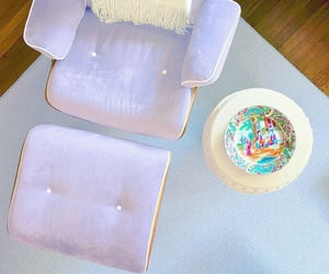 chairs, Eames, and lilac image