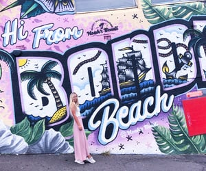 australia, beach, and blonde image