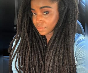 black women, hair, and healthy hair image
