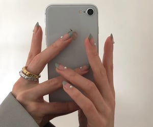 nails, aesthetic, and accessories image
