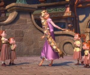 cartoon, rapunzel, and cute image