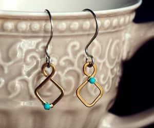 earrings, handmade jewelry, and jewelry image