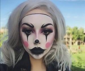 clown and makeup image