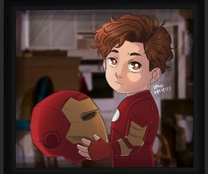 Avengers, ironman, and rdj image