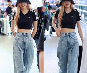 girl, kpop, and outfit image