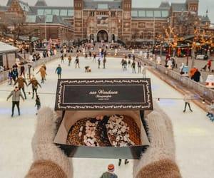 chocolate, food, and ice image