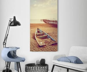 boat, canvas wall art, and surfing canvas wall art image
