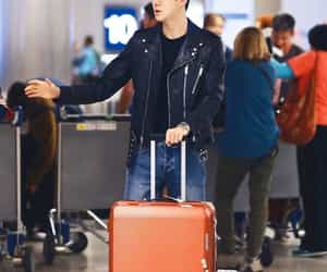 airport, exo, and leather image