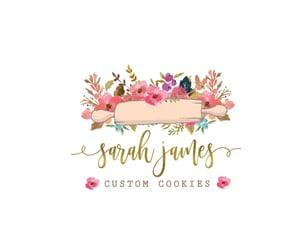 etsy, baking logo, and wedding cake shop image