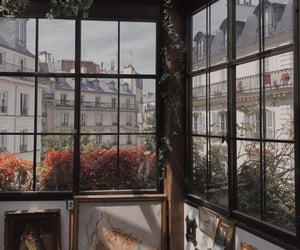 art, drawing, and window image
