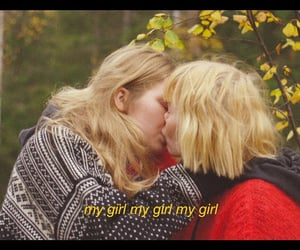 bisexual, lesbian couple, and indie image
