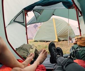 camp, camping, and nature image