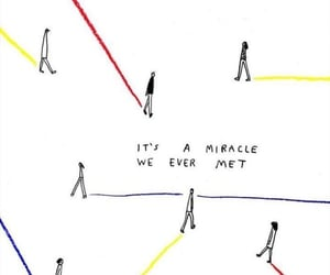 quotes, miracle, and art image