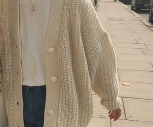 cardigan, casual, and cozy image