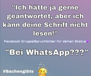 deutsch, whatsapp, and facebook image